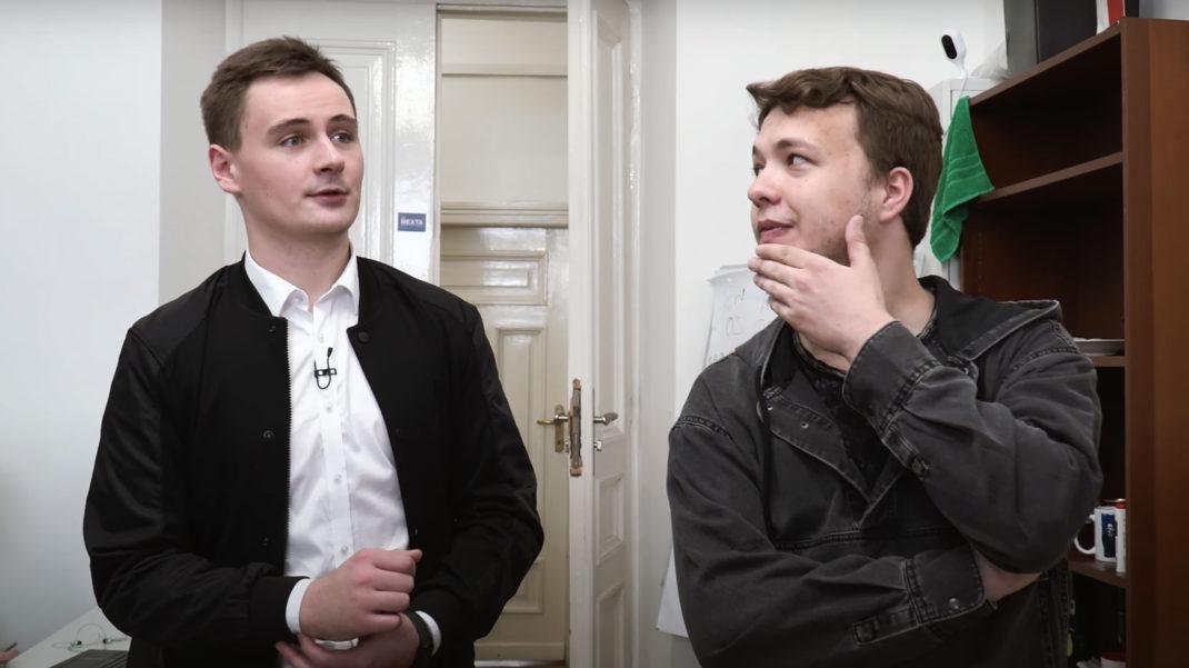 Путило и Протасевич находятся вмежгосударственном розыске / Скриншот из видео вДудь