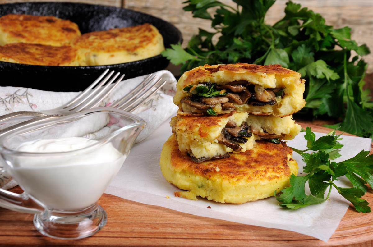Зразы с грибами - рецепт / фото ua.depositphotos.com