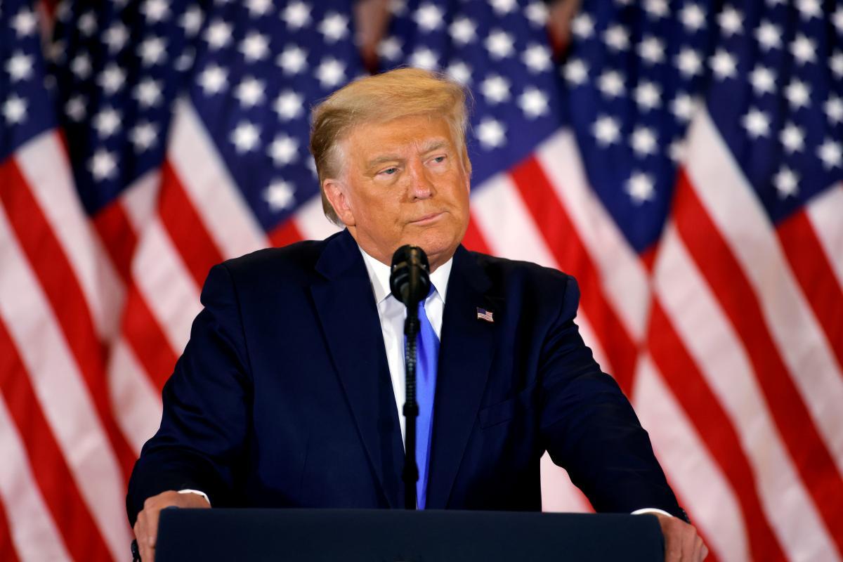 Трамп назвал себя победителем/ фото REUTERS