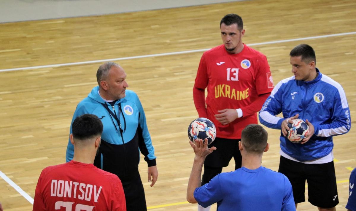 Украина сыграет с Россией второй матч 7 ноября / фото handball.net.ua
