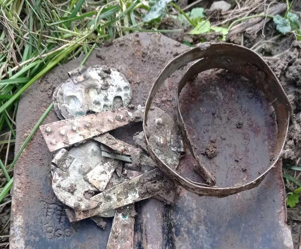 «Черный археолог» готов продать находку по цене металла