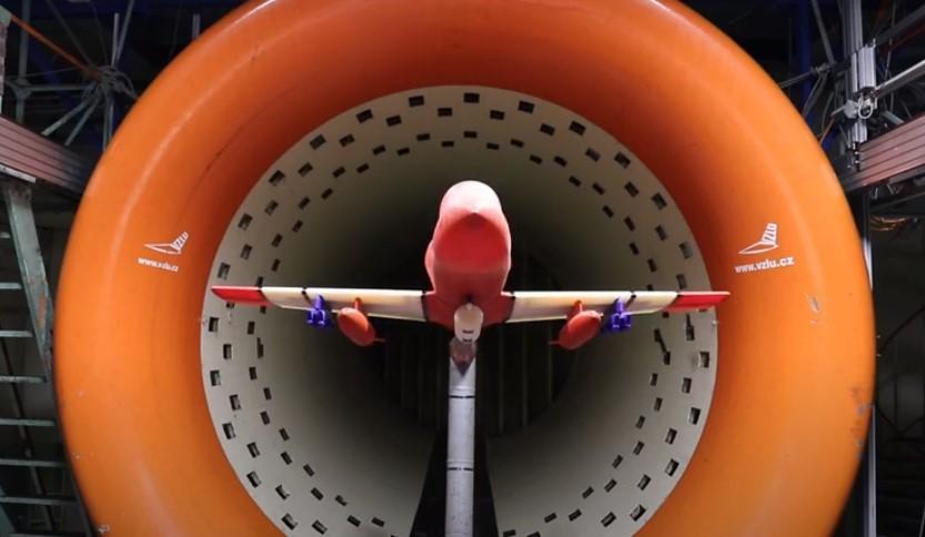 Модель штурмовой версии L-39NG для аэродинамических испытаний была создана на 3D-принтере / скриншот