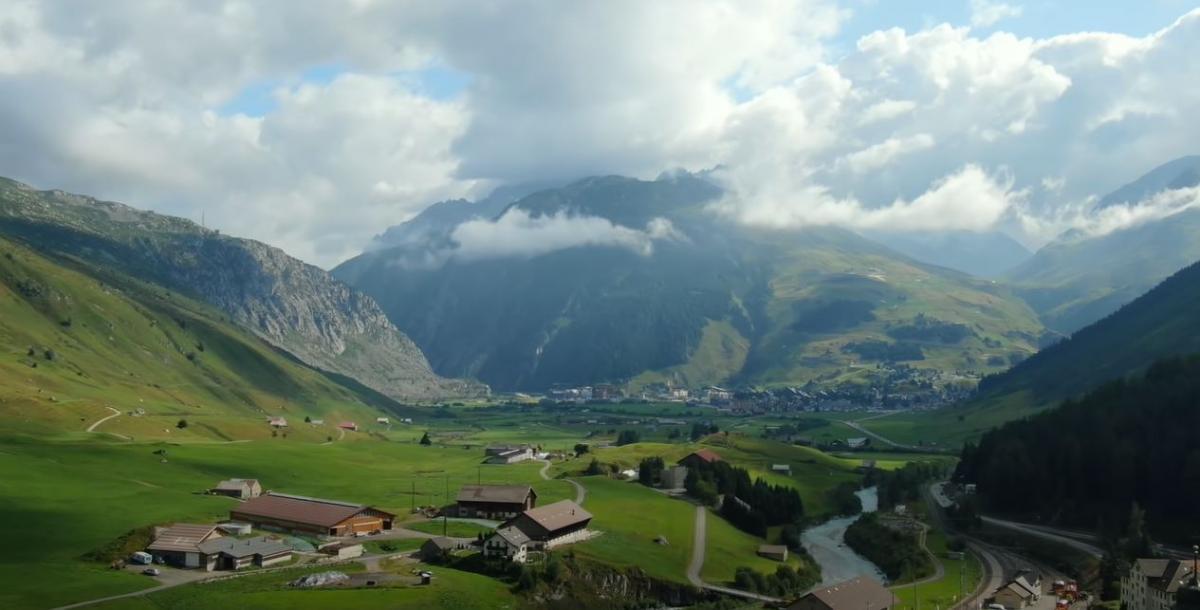 Швейцария - страна спокойствия / фото пресс-службы «1+1»