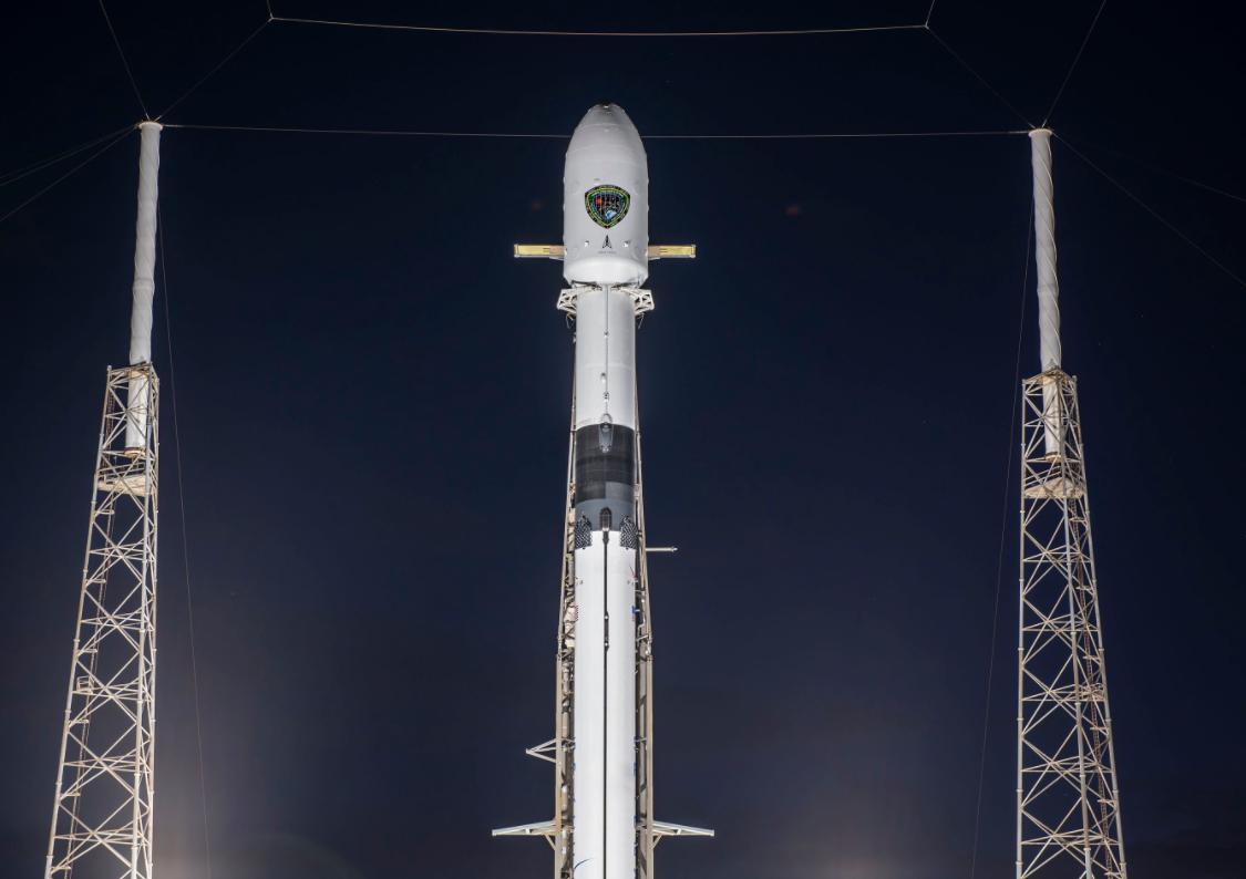 SpaceX запустила на орбіту військовий GPS-супутник / @SpaceX