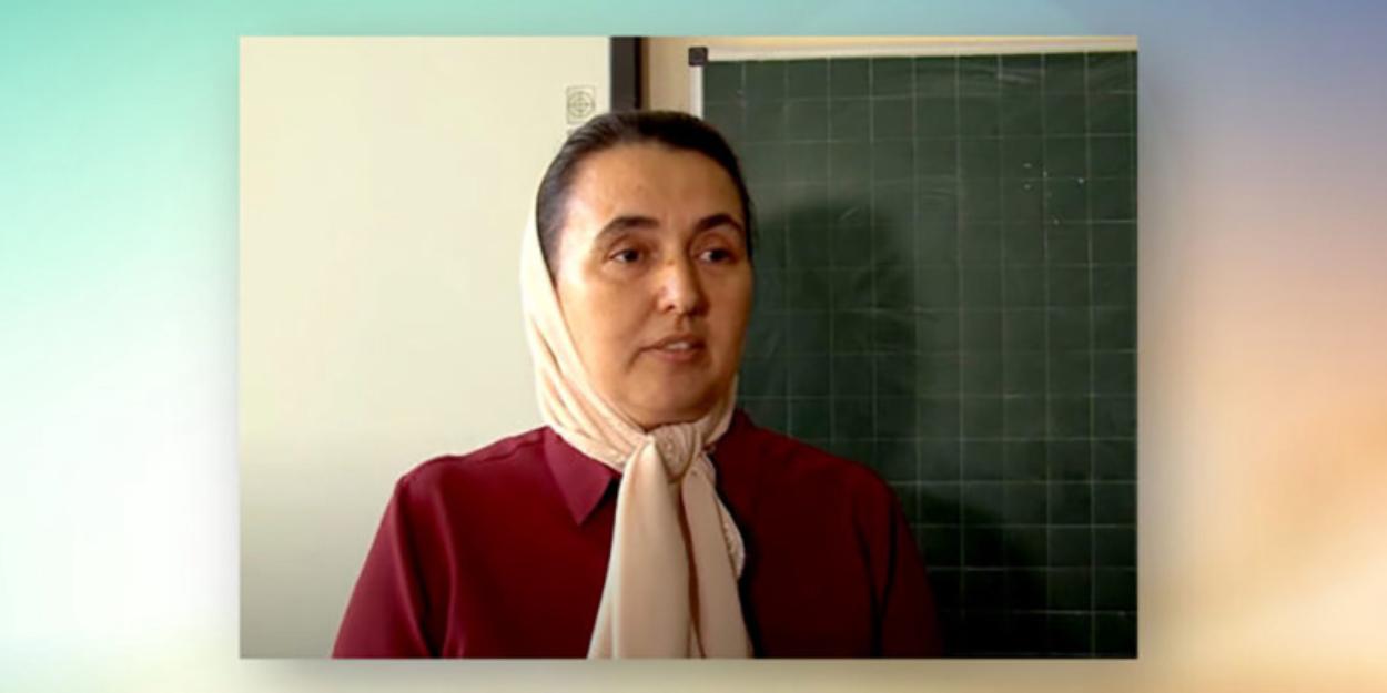 Учительница категорически отказывается надевать маску \ фото osvita info