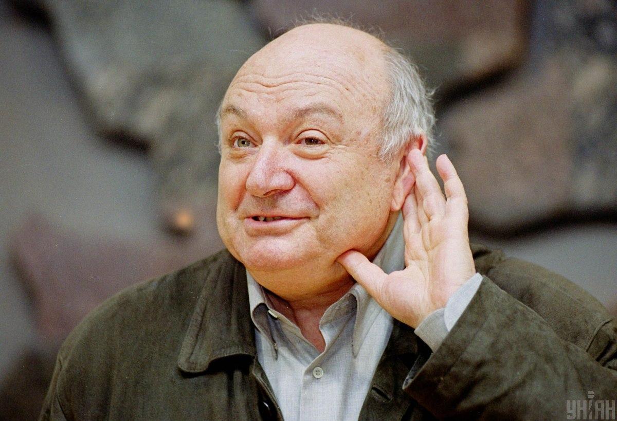 Сегодня стало известно о смерти известного сатирика Михаила Жванецкого / фото УНИАН, Андрей Горб