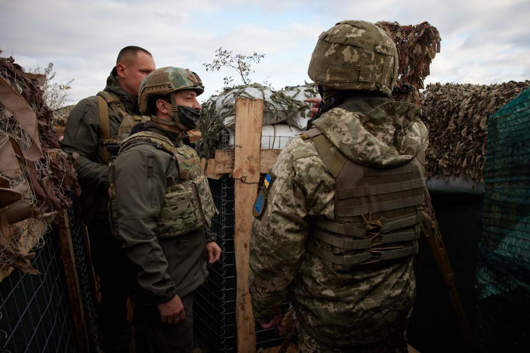 Зеленский будет прививаться от COVID-19 вместе с украинскими военными / фото president.gov.ua