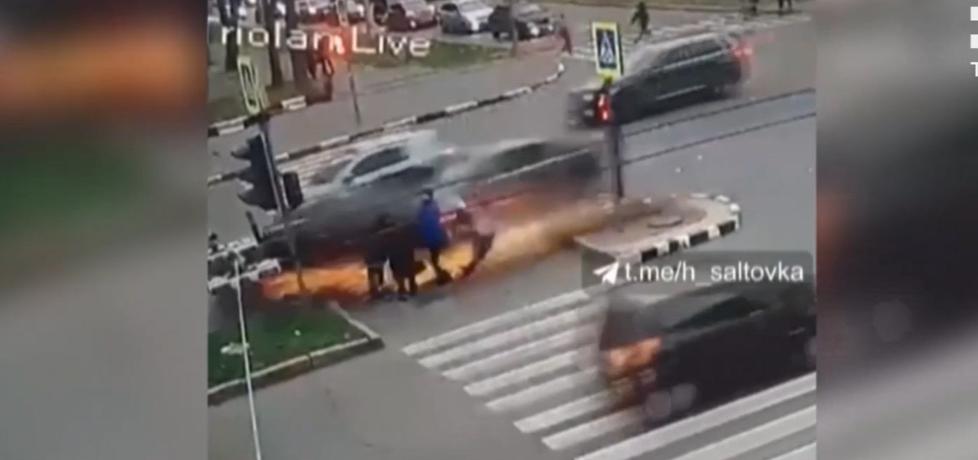 Стало известно о состоянии пострадавших в харьковском ДТП / скриншот с видео