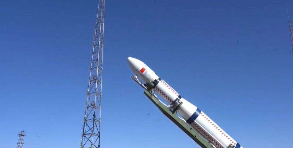 Китай запустил в космос спутник 6G / Скриншот с видео