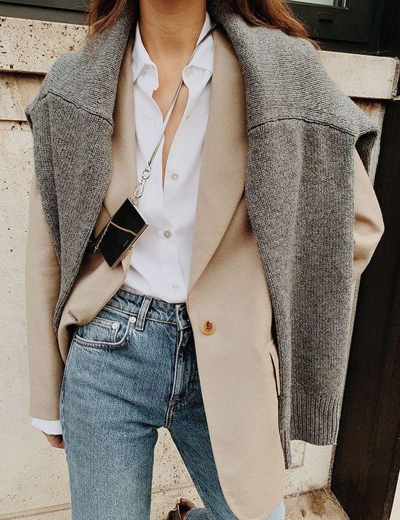 Многослойность в одежде / фото pinterest.com