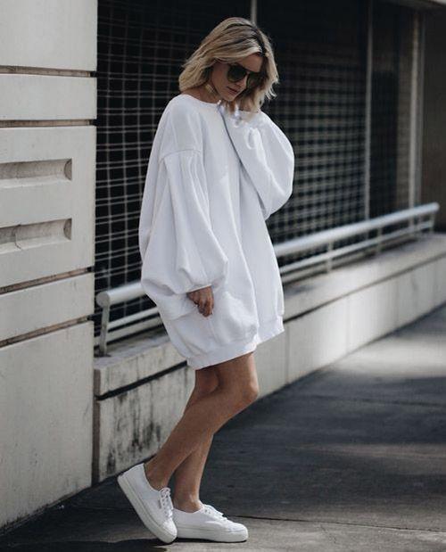 Оверсайз платье / фото pinterest.com