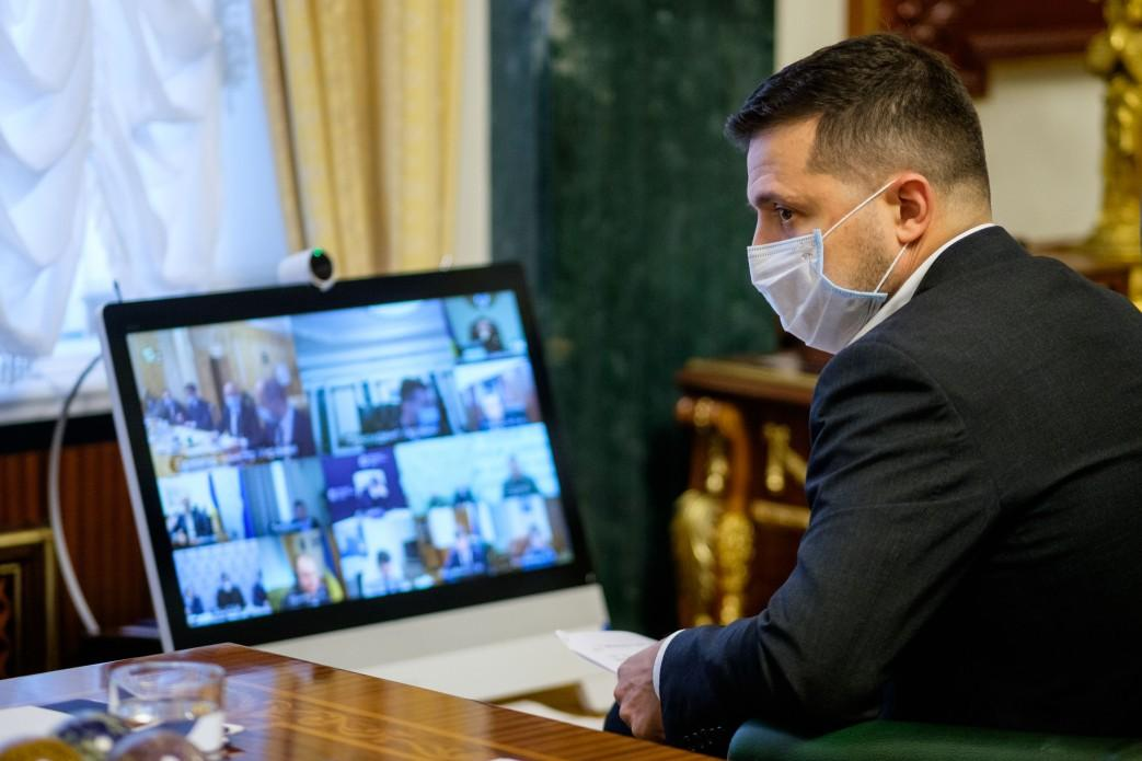 Зеленський звернувся до українців / фото Офіс президента