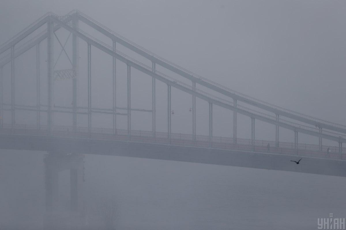 Через сильний туман очікується погана видимість / фото УНІАН