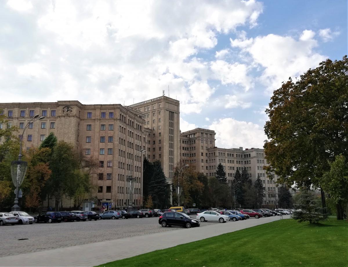 Корпуси Національного університету Каразіна в Харкові / фото Марина Григоренко