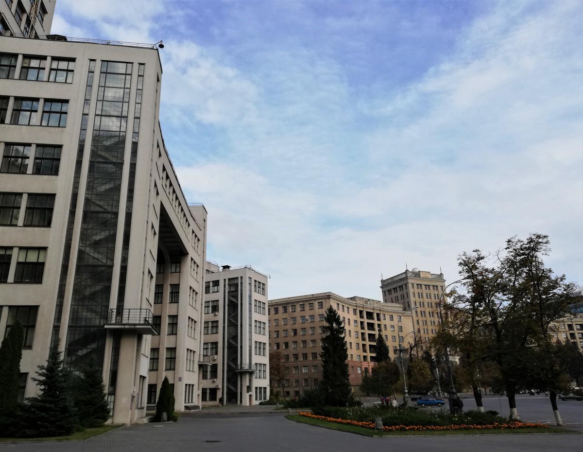 Комплекс будівель на площі Свободи в Харкові / фото Марина Григоренко