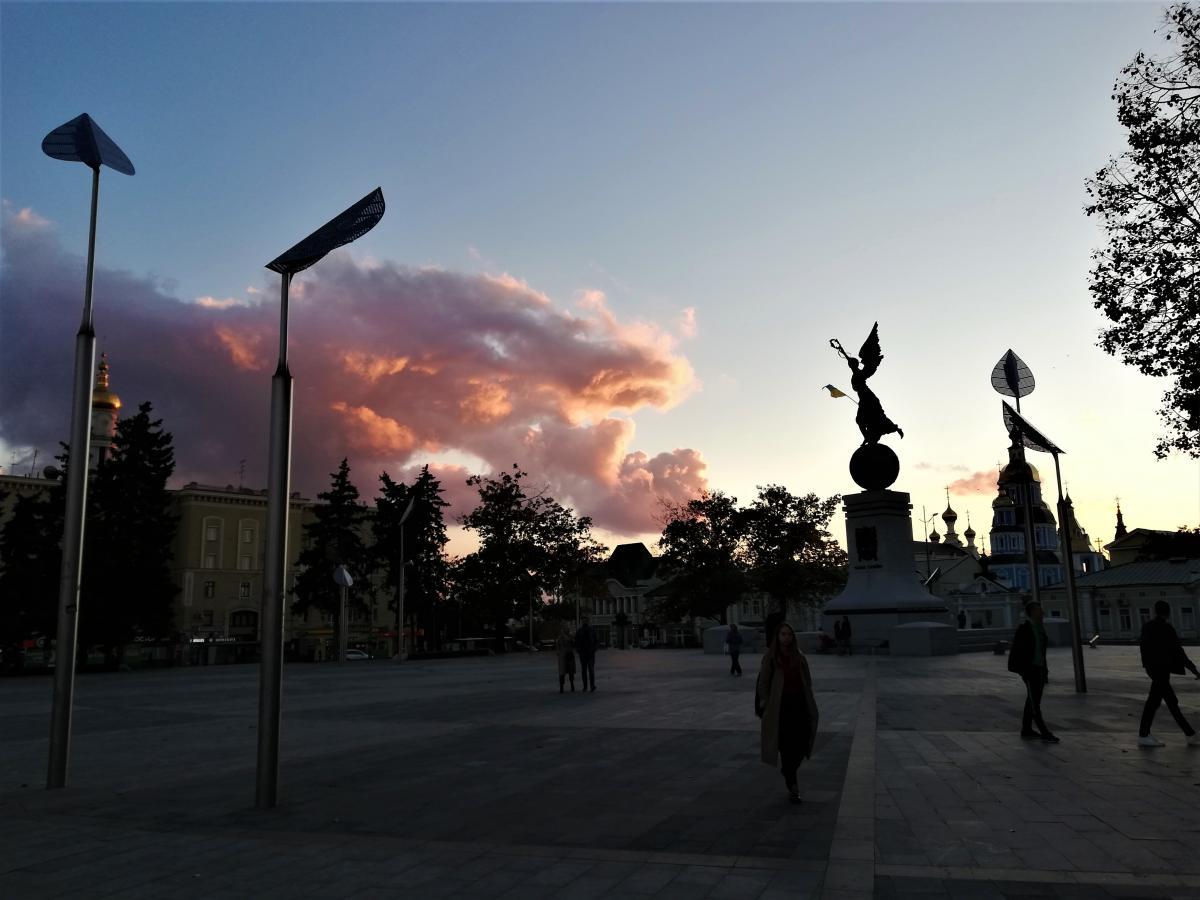 Площа Конституції в Харкові / фото Марина Григоренко