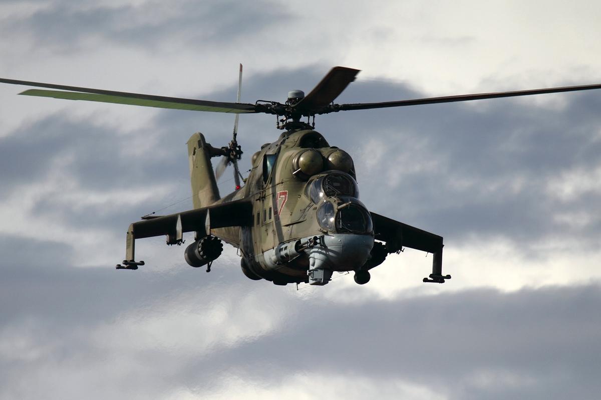 Вертолет сбили 9 ноября / фото Игорь Двуренков