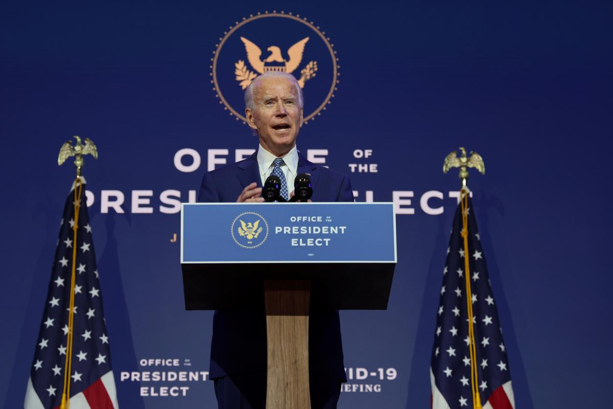 Байден обсудил ситуацию в Украине с Макроном и Джонсоном / фото REUTERS