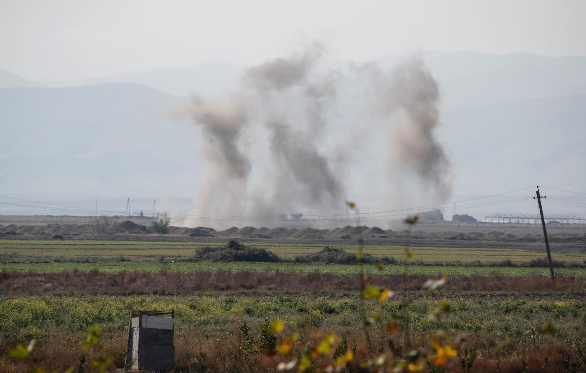 В Карабах введут миротворцев России и Турции / фото REUTERS