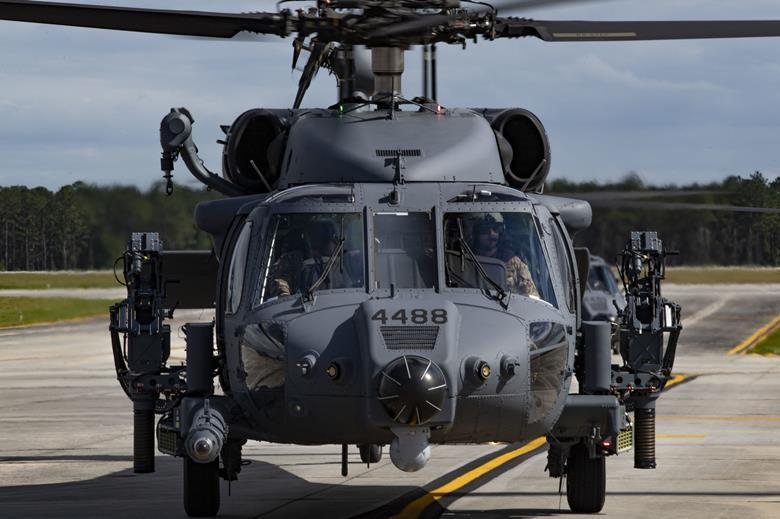 HH-60W - ВВС США получили первые боевые спасательные вертолеты / US Air Force