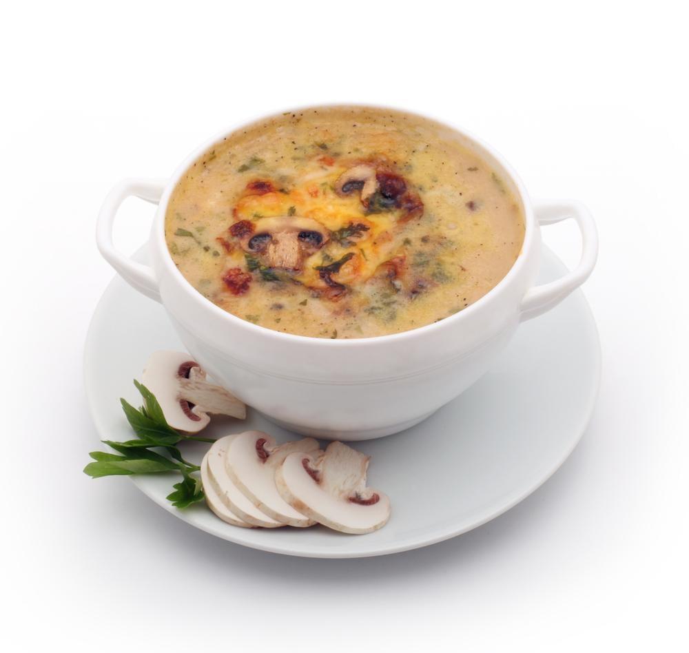 Сливочный суп-пюре с грибами рецепт / фото ua.depositphotos.com