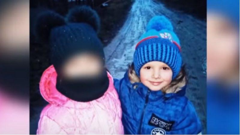 """Шестирічна Діана і п'ятирічний Артем / фото """"Факти"""""""