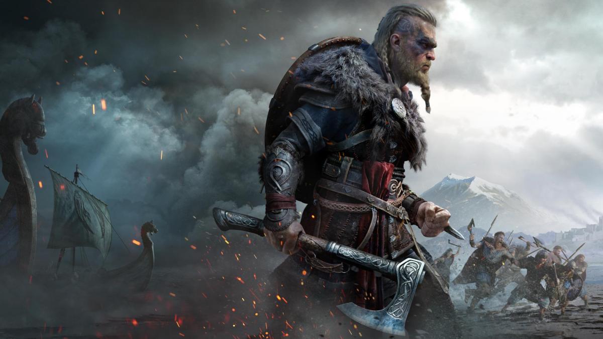 Assassin's Creed Valhalla вышла 10 ноября /фото Ubisoft