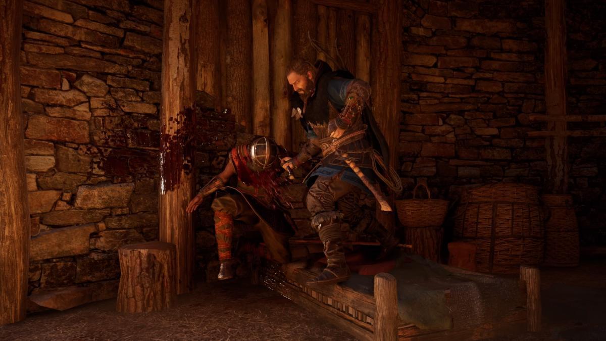 Демонстрировать кровь игра не боится / скриншот