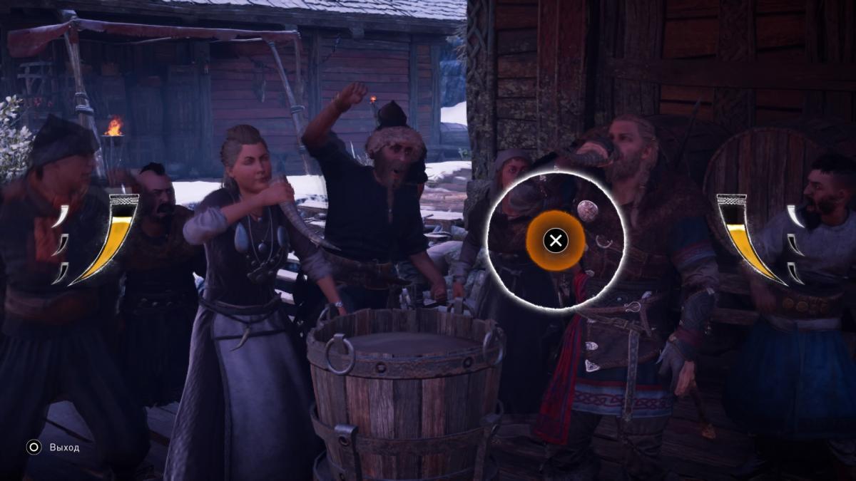 Мини-игра с выпивкой на скорость, а есть еще местные рэп-баттлы и кости / скриншот