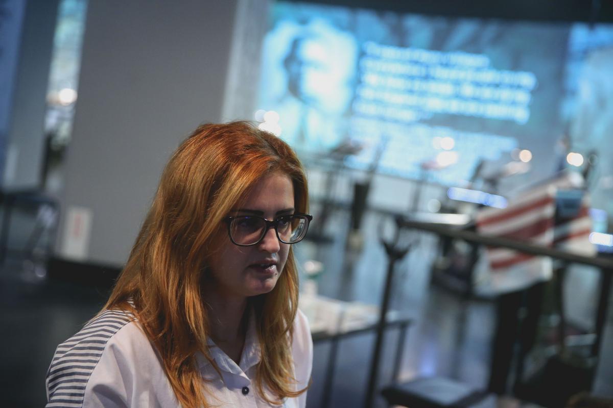Кураторка проекту стверджує, щолюди досі бояться говорити правду про Голодомор / фото УНІАН