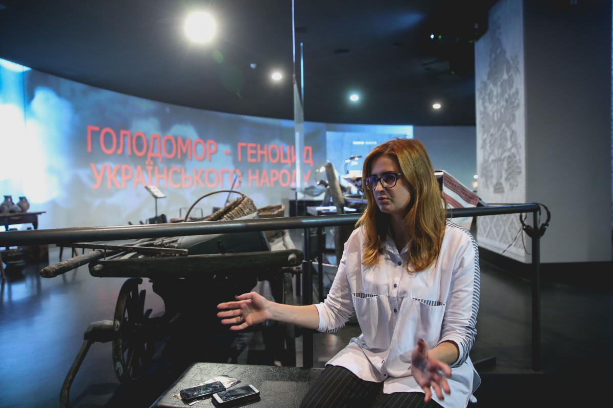 Лариса Артеменко розповіла, як Голодомор змінив українців / фото УНІАН