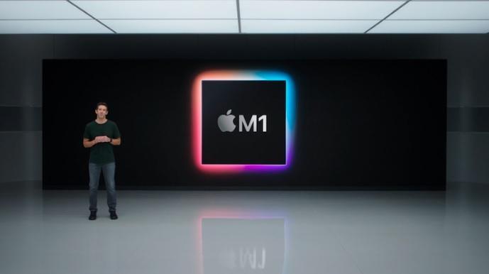 Apple показала чип М1 / Скриншот