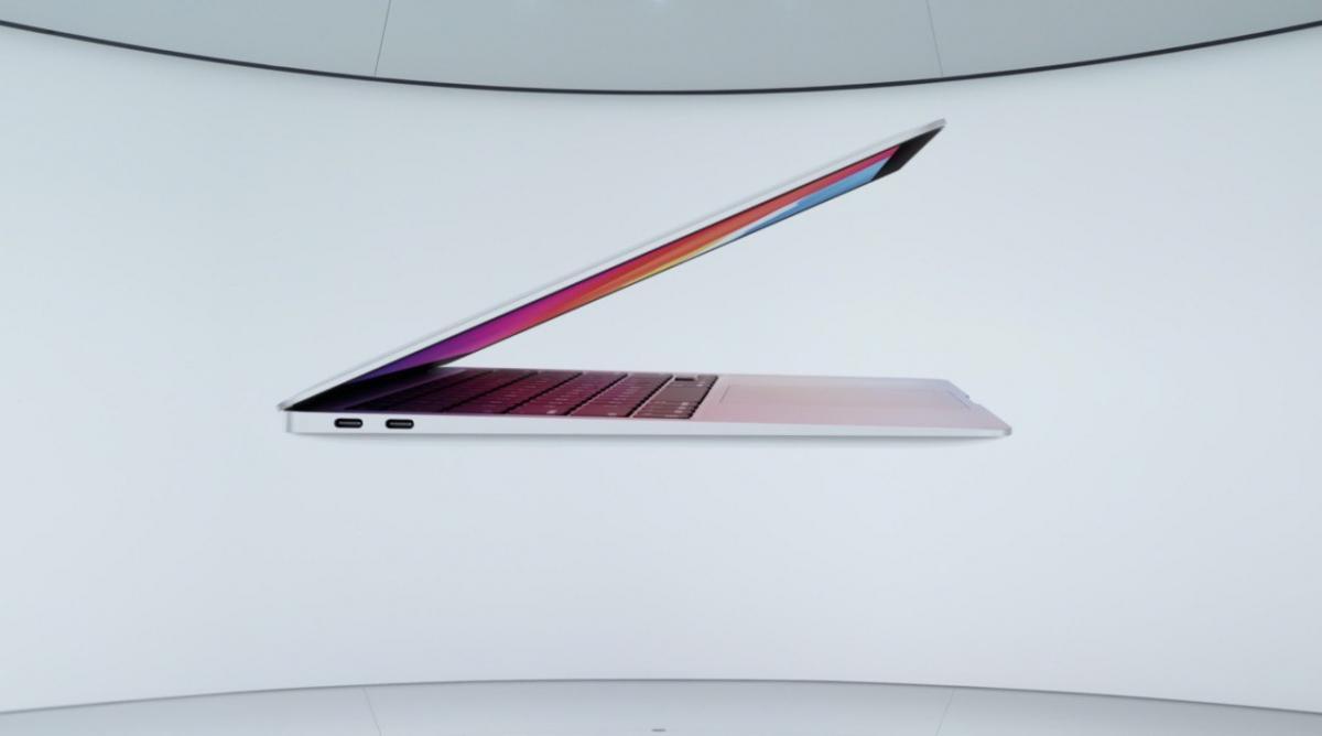 Apple презентовала новые MacBook / скриншот