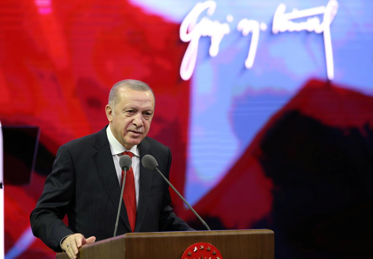 Президент Туреччини Реджеп Таїп Ердоган / фото REUTERS