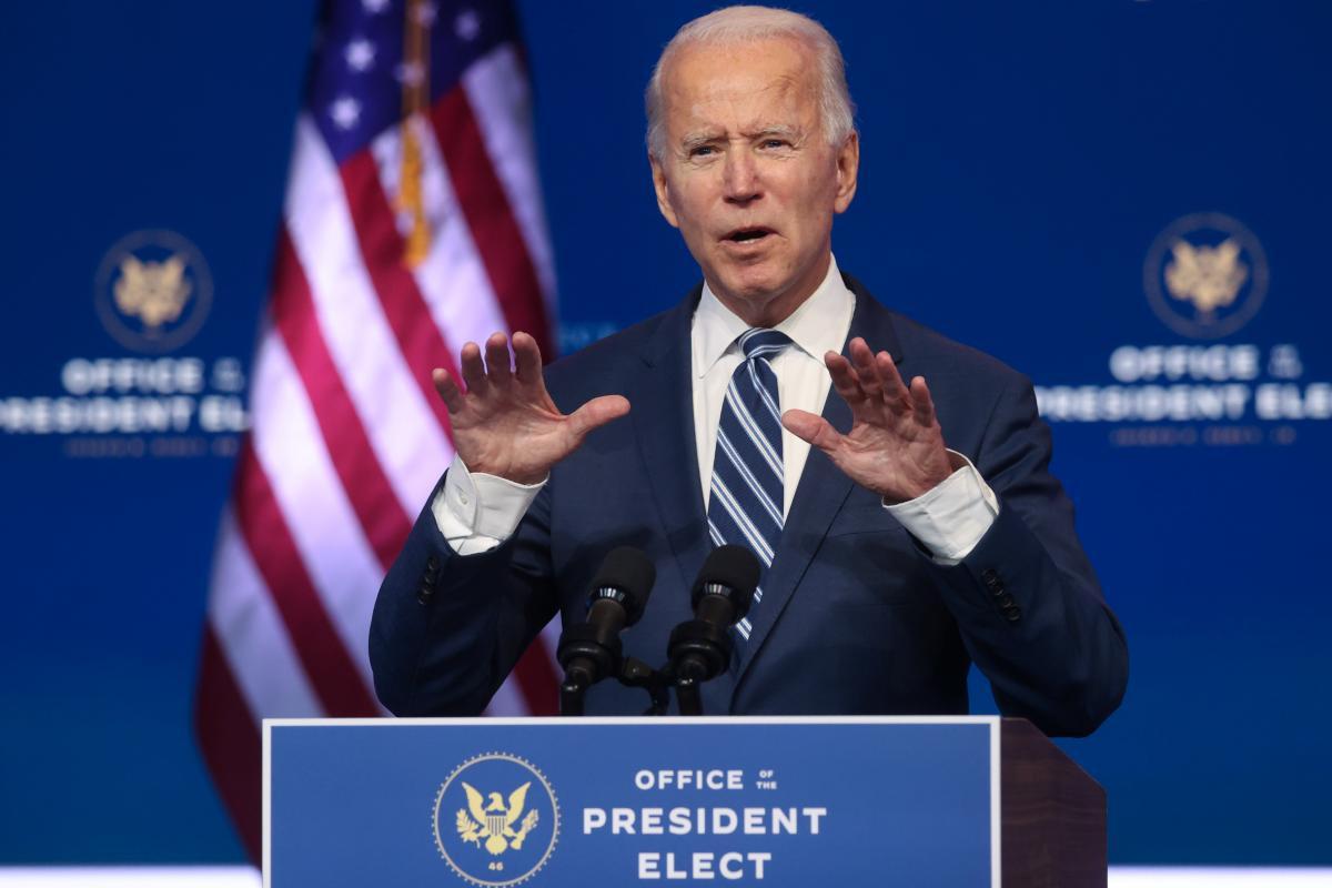 Байден получил необходимые для победы на выборах голоса / фото REUTERS