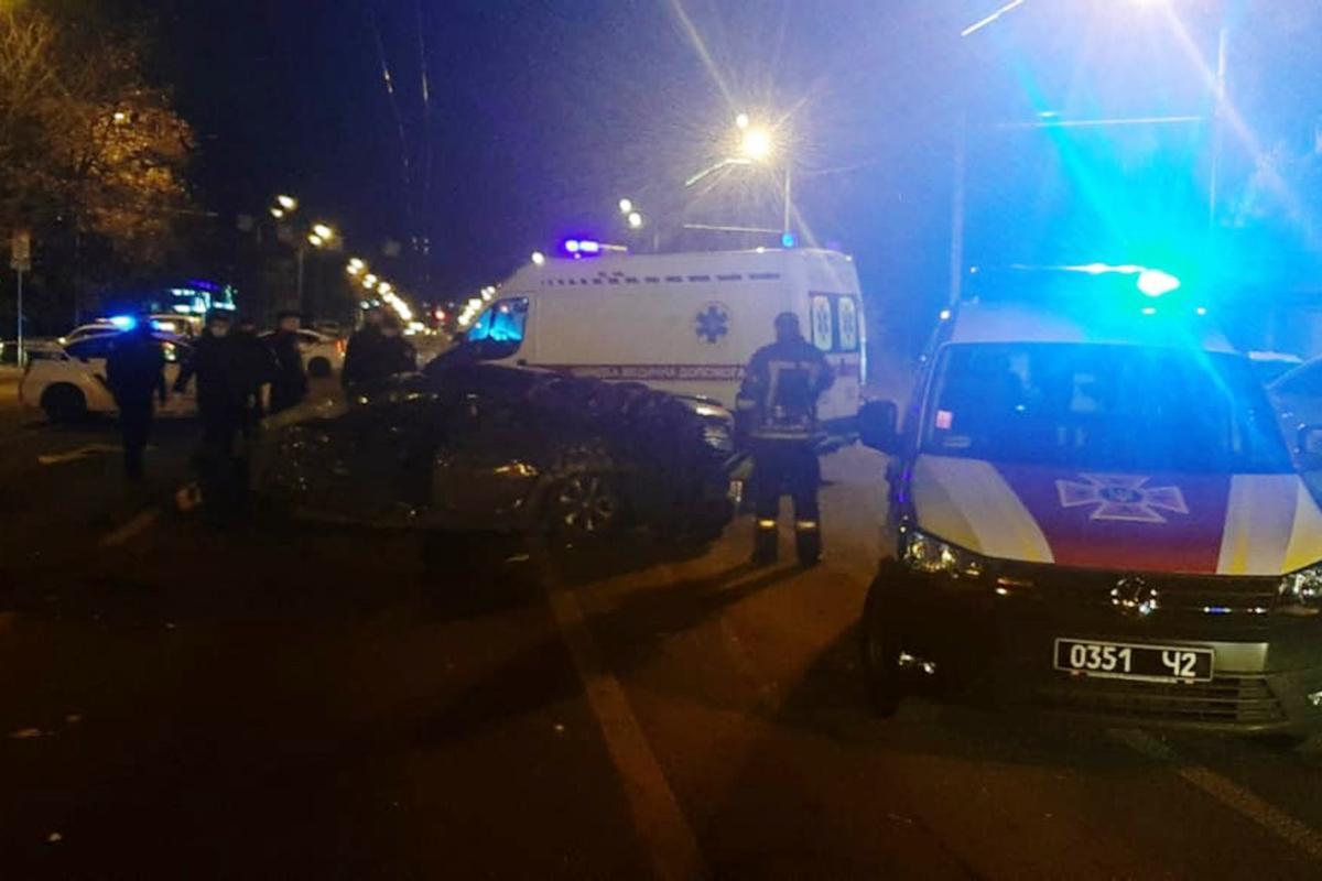 Місце аварії в Дніпрі / фото ДСНС