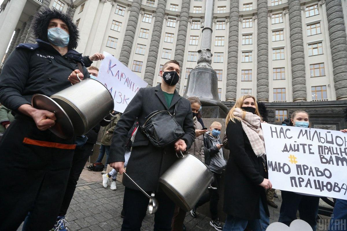 На данный момент акция в Киеве проходит спокойно, без происшествий. Участвуют в ней несколько сотен человек / Фото УНИАН, Вячеслав Ратынский