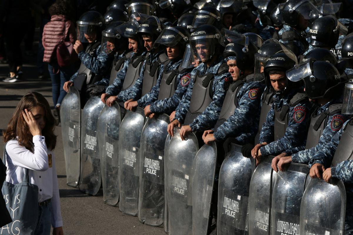 В Армении начались беспорядки / REUTERS