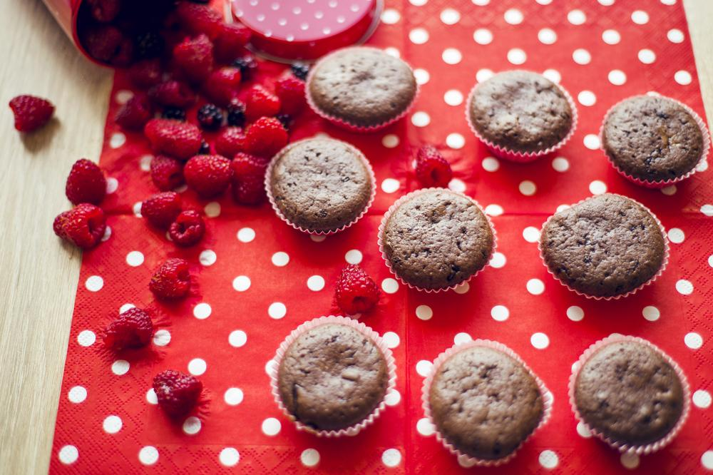 Рецепт кексов с ягодами / фото ua.depositphotos.com