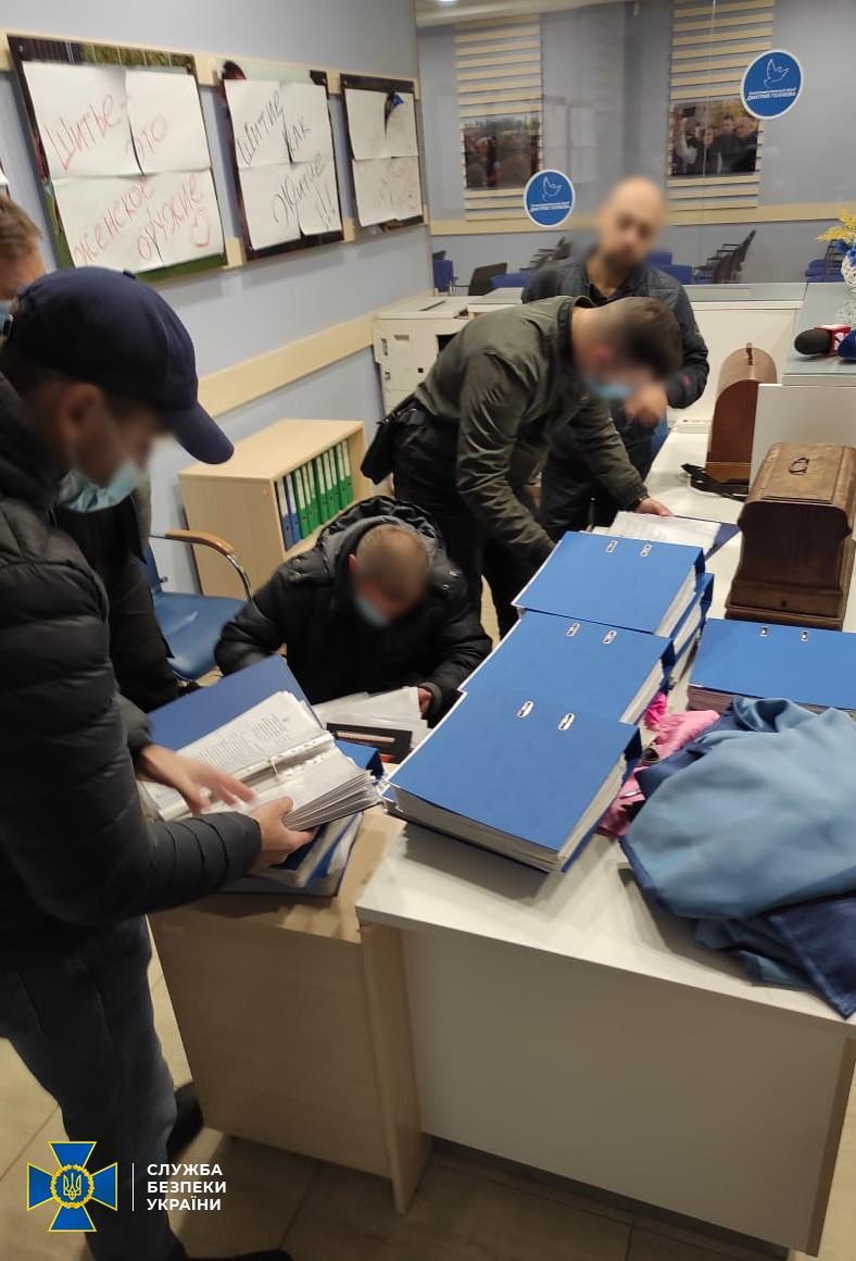 Правоохранители обнаружили сотни поддельных бюллетеней / фото СБУ