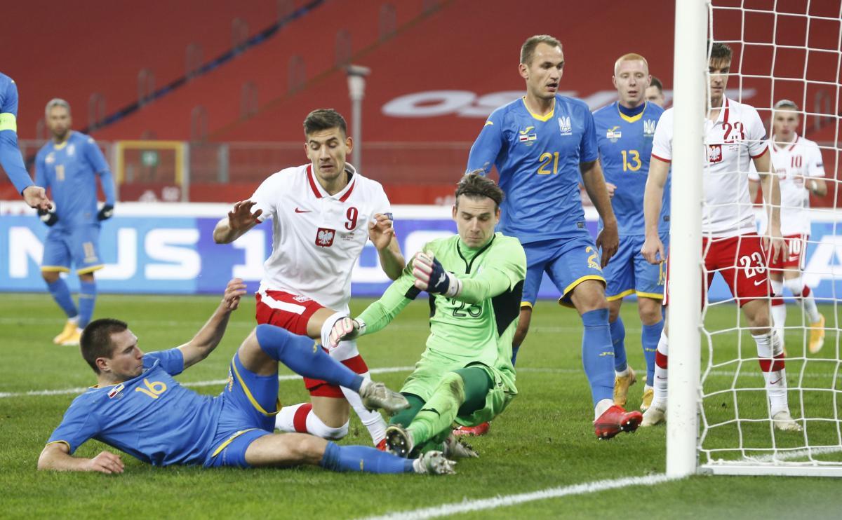 Второй гол польской сборной / фото REUTERS