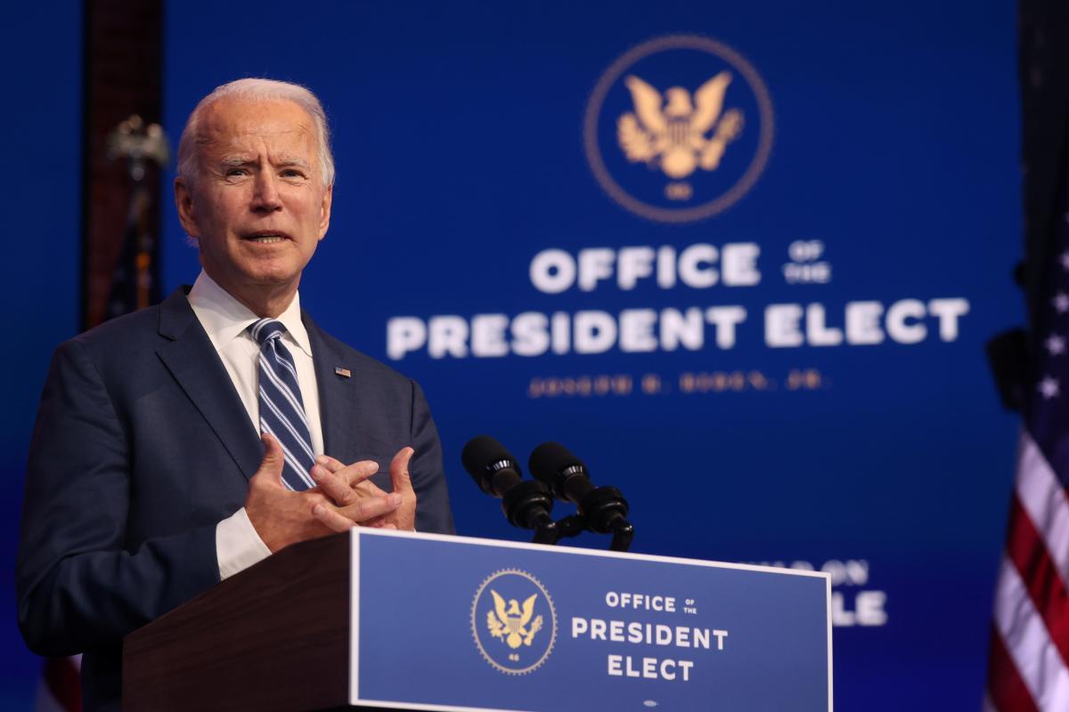 Байден - офіційно переможець виборів у США / фото REUTERS