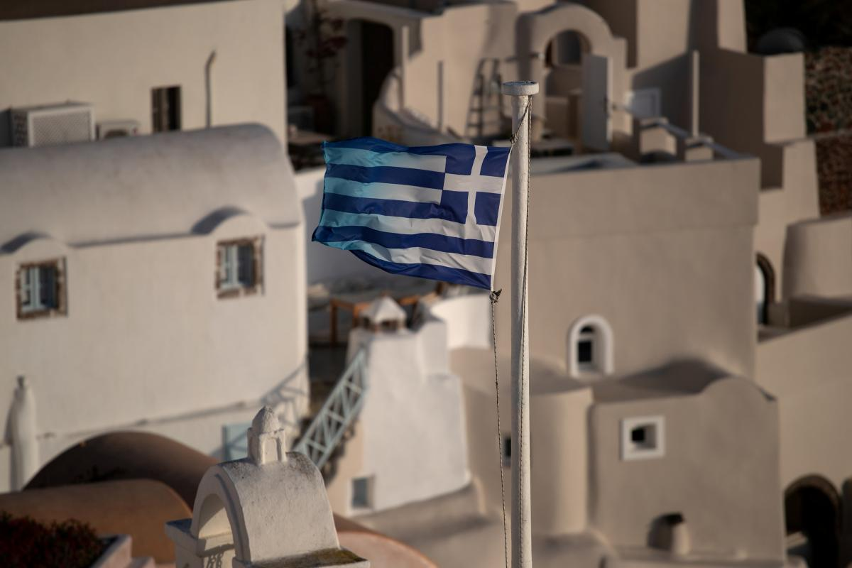В Греции ночью действует комендантский час / фото REUTERS