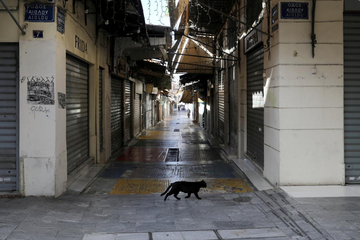 Греция на неделю ужесточила карантинные ограничения / фото REUTERS