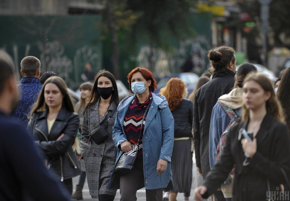 У Києві за добу виявлено 1 тис. 83 інфікованих COVID-19 / фото УНІАН, Сергій Чузавков