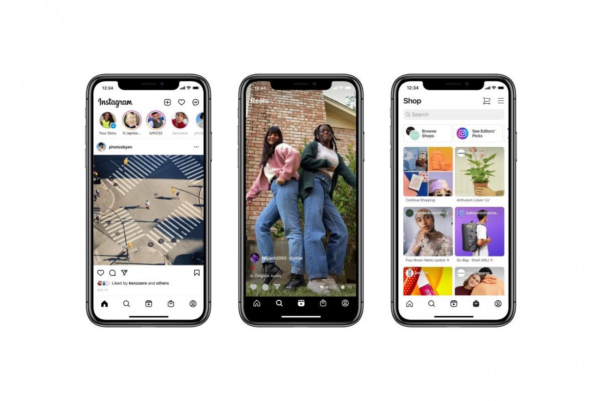 Instagram впервые за много лет обновляет дизайн главного экрана / фото The Verge