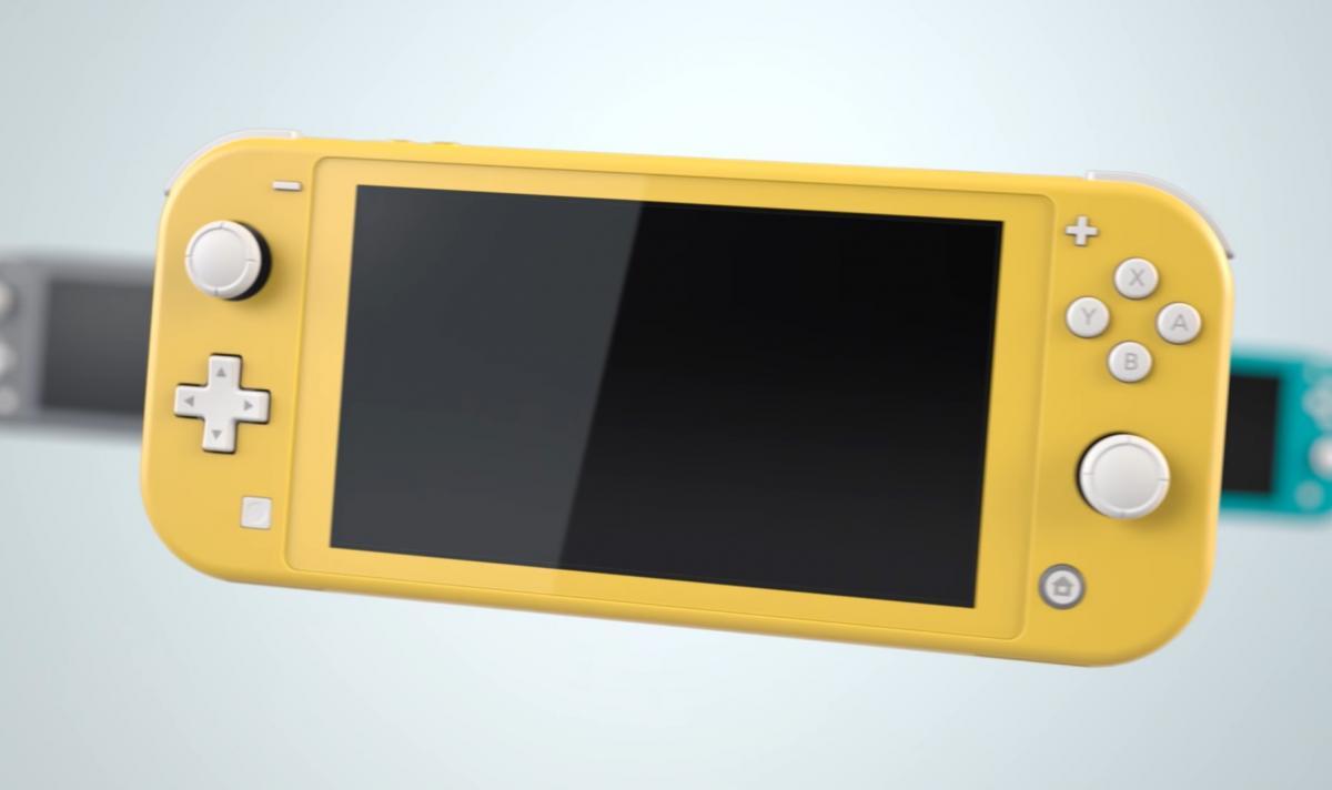 Всі моделі консолі Nintendo Switch продалися в США рекордним тиражем / скріншот з трейлера