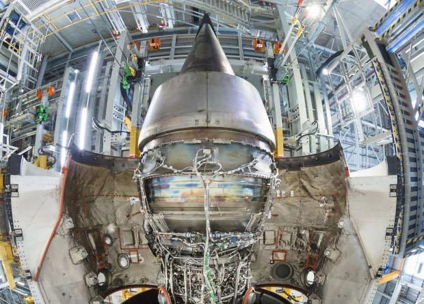 Авіадвигун, що працює на біопаливі, випробують у Британії / фото Rolls-Royce