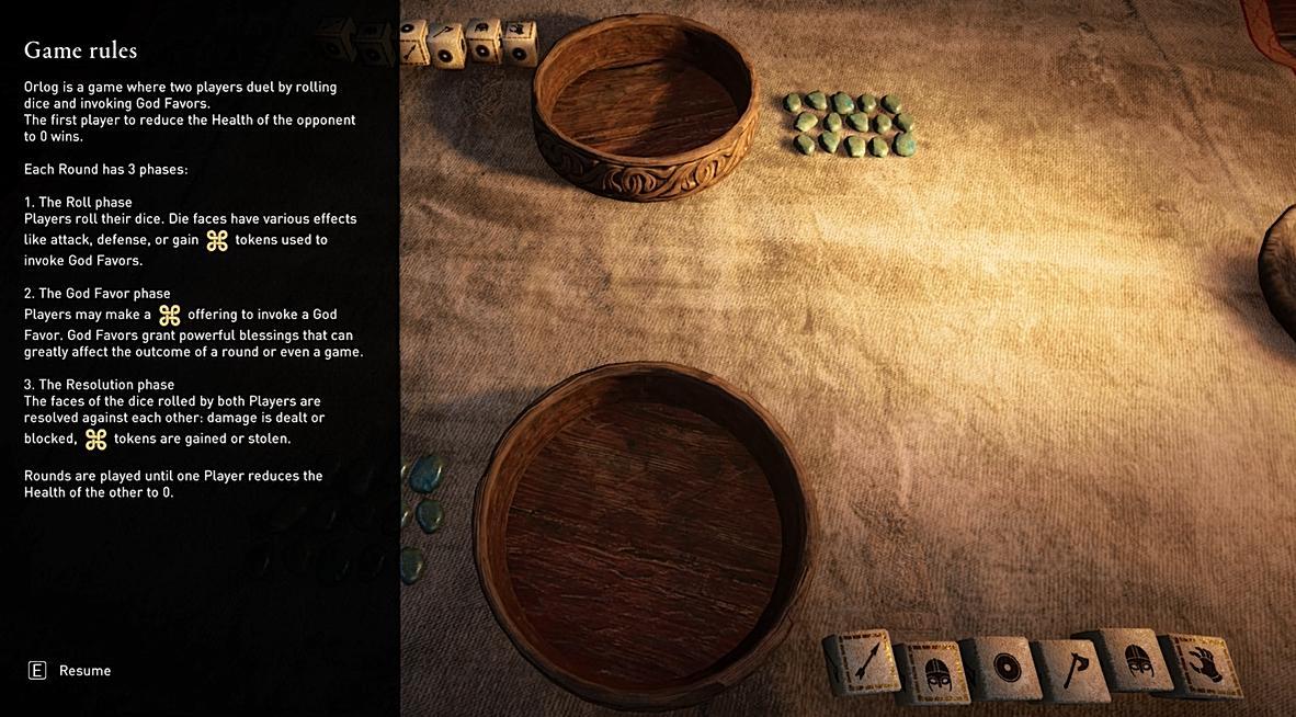 Та самая игра в кости с объяснением правил / скриншот