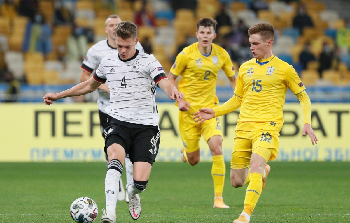 В первом круге Германия обыграла Украину / фото REUTERS
